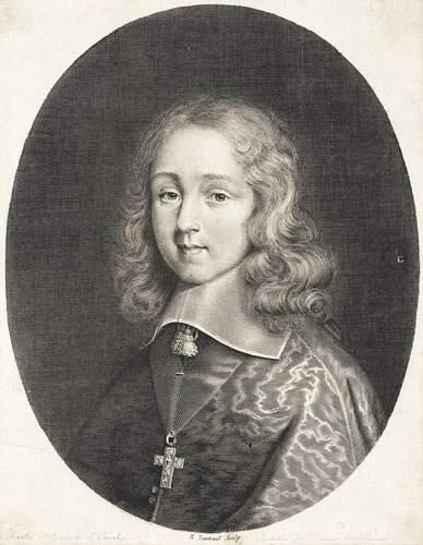 Robert NANTEUIL (1623-1678) Portrait de Charles...
