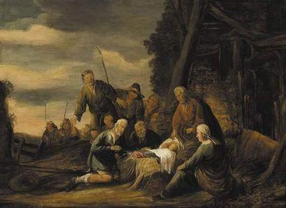 Benjamin GERRITSZ CUYP (1612-1652) L'adoration...