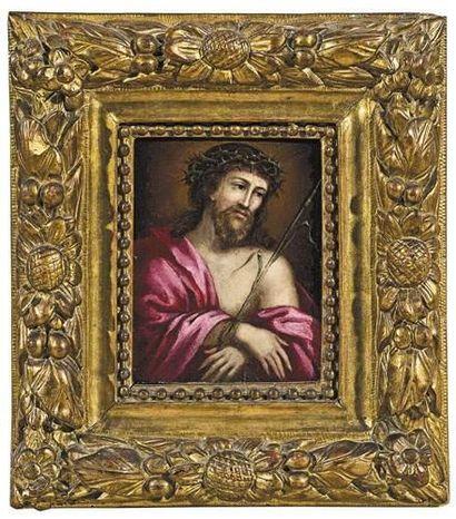 Ecole FRANCAISE du XVIIème siècle Le Christ...