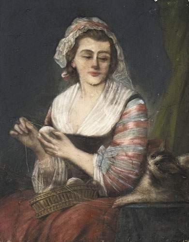 Louis AUBERT (actif vers 1740-1780) Ecole...