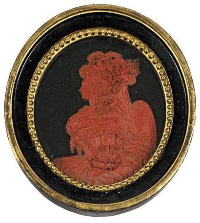 Portrait présume de la Reine Marie-Antoinette...