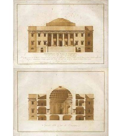 Giuseppe CAMPORESE (Rome 1761-Rome 1822)...