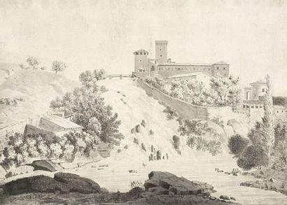Antoine- Félix BOISSELIER (1790-1857) attribué...