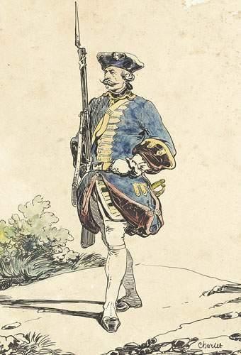 Nicolas-Toussaint CHARLET (1792-1845) Un...