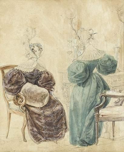Louis-Marie LANTE (né en 1789) Femmes au...