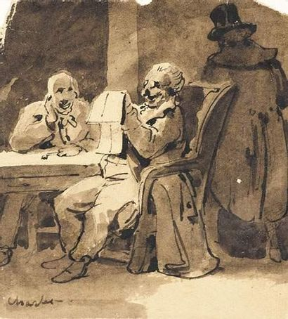 Nicolas-Toussaint CHARLET (1792-1845) La...