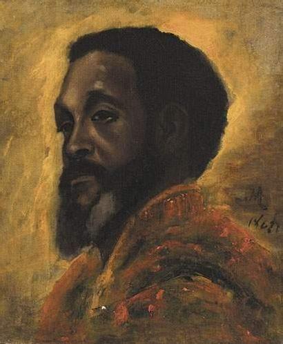 Henri REGNAULT (1843-1871) Tête de Maure....