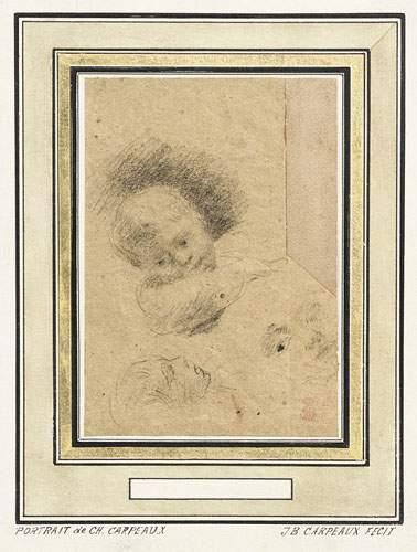 Jean-Baptiste CARPEAUX (1827-1875) Portrait de Charles Carpeaux, fils de l'artiste...