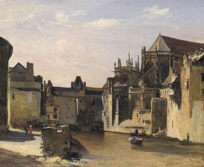 Richard Parkes BONINGTON (1802-1828) attribué...