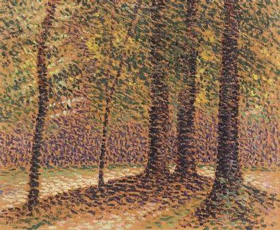 Ernest Lucien BONNOTTE (1873-1954) Paysage...