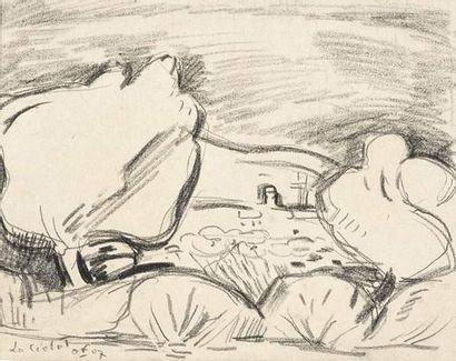 Emile OTHON FRIESZ (1879-1949) La Ciotat....