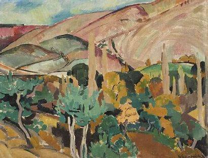Willy EISENSCHITZ (1889-1974) Paysage de...