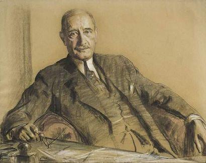 Fritz REUSING (1874-c.1957) Portrait d'homme....