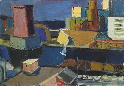 Pierre AMBROGIANI (1907-1985) Marseille,...