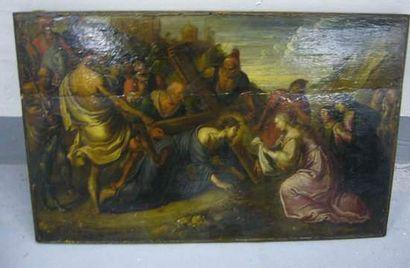 Frans II FRANCKEN (Attrib.) (1581-1642) Sainte...