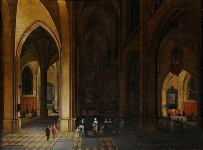 Peeter NEEFS (? Vers 1578 - Anvers 1656)...