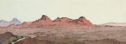 Arcady STOLIPINE (1896-1992) Le Caucase....