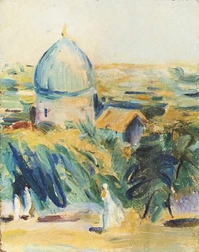 Martiros SARYAN (1880-1972) Paysage. Huile...