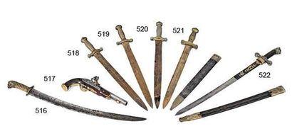 Glaive d'artillerie modèle 1831 poignée en...