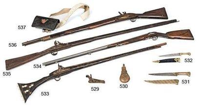 Fusil de fantasia à poudre noire en bois...