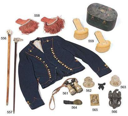 Paire d'épaulettes d'officier de la Garde...