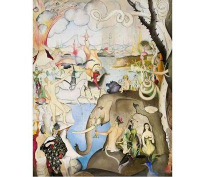 Wilhelm FREDDIE (1909-1995) Composition surréaliste....