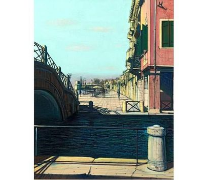 Jean CARZOU (1907-2000) Venise. Huile sur...