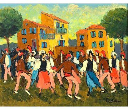 Emmanuel BELLINI (1904-1989) Nice la Belle....