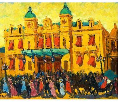 Emmanuel BELLINI (1904-1989) Monte Carlo...