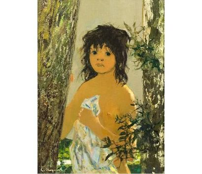 Georges CHEYSSIAL (1907-1997) Baigneuse....