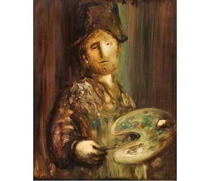 Sylvain VIGNY (1902-1970) Autoportrait de...