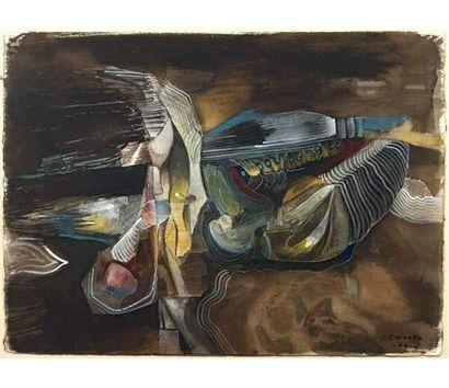 Christian CHENARD (1918-2002) Composition...