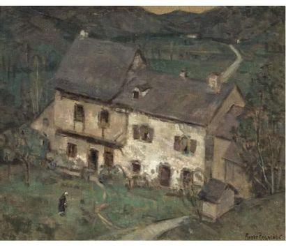 André REGAGNON (1902-1976) Erée dans l'ariège....