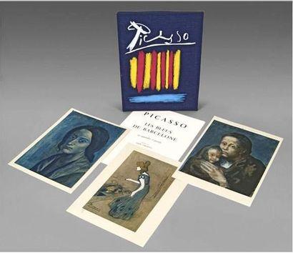 Pablo PICASSO (1881-1973) Les bleus de Barcelone....