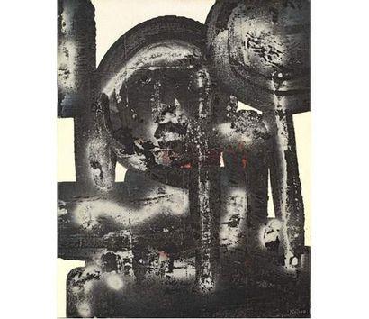 Ladislas KIJNO (né en 1921) Composition abstraite....