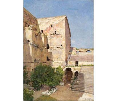 Marius MICHEL ( né en 1853) L'intérieur du...