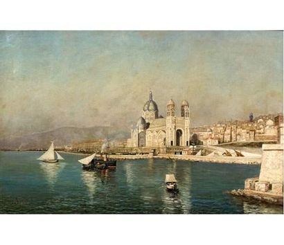 B.M. LESBROT Ecole provençale XIX° siècle....