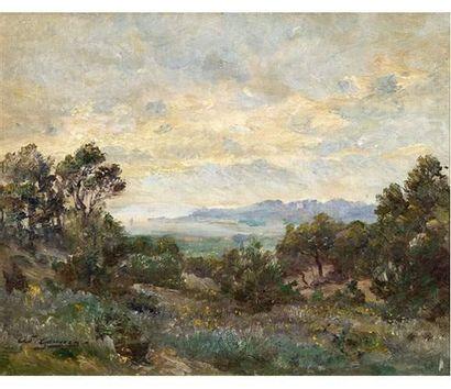 Adolphe GAUSSEN (1871-1947) Cassis, vue sur...