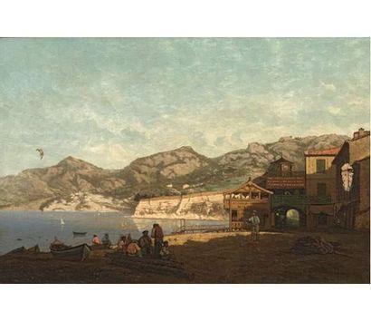Ecole provençale du XIXe siècle L'Estaque....