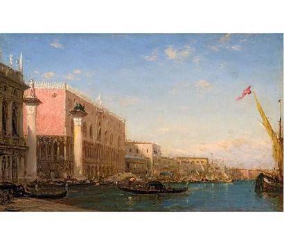 Félix ZIEM (1821-1911) Venise, Le Palais...