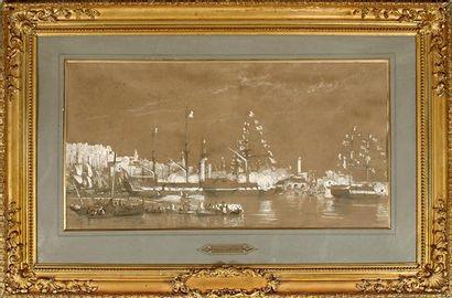 Vincent COURDOUAN (1810-1893) La réception...