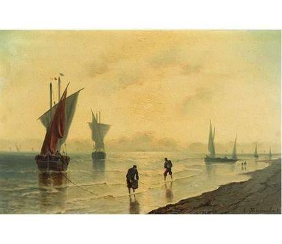 Louis BARNABA (actif à la fin du XIXe siècle)...
