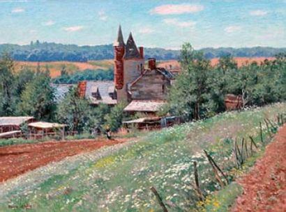 Maurice LEMAITRE, né en 1929 Été à Collonges-la-Rouge...