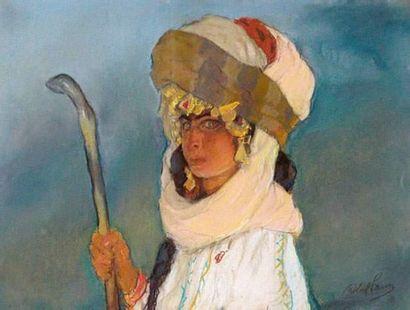 Abel PANN (1883-1963) Portrait d'une jeune...