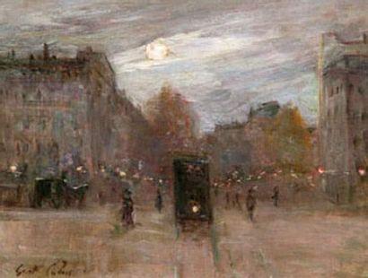 Gustave COLIN (1828-1910) Place Péreire le...
