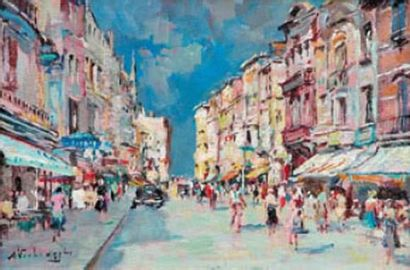 Charles Henri VERBRUGGHE (1877-1974) Ostende...