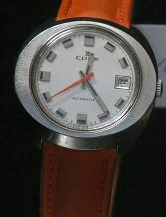 EDOX Vers 1970 Montre bracelet en acier,...