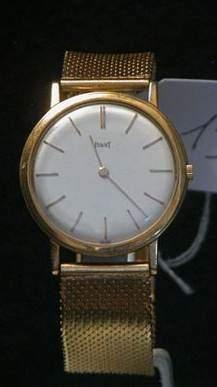PIAGET Vers 1960 Belle montre bracelet ultra...