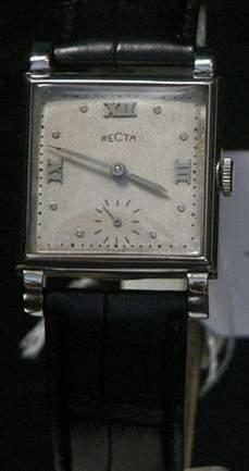 RECTA Vers 1940 Belle montre bracelet en...
