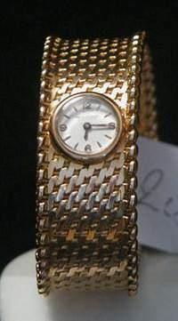 JAEGER LECOULTRE Vers 1950 Belle montre bracelet...